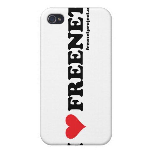 Freenet del corazón - De largo iPhone 4/4S Fundas