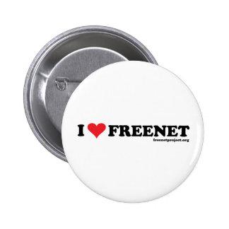 Freenet del corazón - De largo Pins