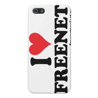 Freenet del corazón iPhone 5 protector