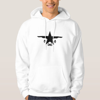 FreeOne White graphic hoodie