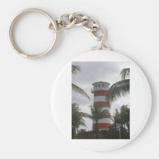 Freeport Bahamas lighthouse Keychain