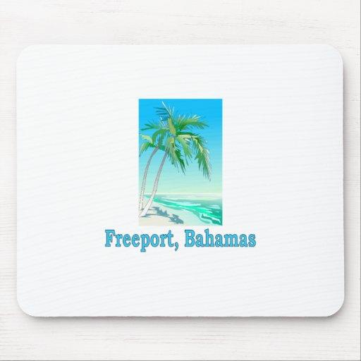 Freeport, Bahamas Mousepads
