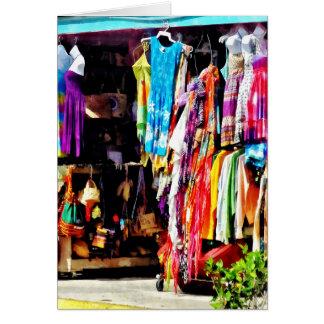 Freeport, Bahamas - Shopping At Port Lucaya Market Card