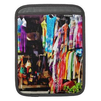 Freeport, Bahamas - Shopping At Port Lucaya Market iPad Sleeve