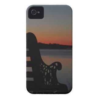 Freeport Maine Moon at Sunrise iPhone 4 Case-Mate Case