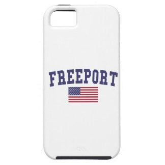 Freeport US Flag iPhone SE/5/5s Case
