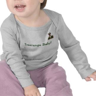 Freerange Baby long-sleeved vest (with logo) Shirt