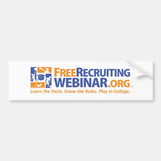 FreeRecruitingWebinar org Bumper Stickers