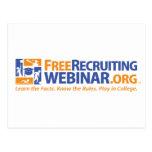 FreeRecruitingWebinar.org Postales