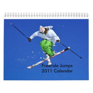Freeride Jumps 2011 Calendar