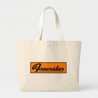 FREERIDER Orange Banner Bag