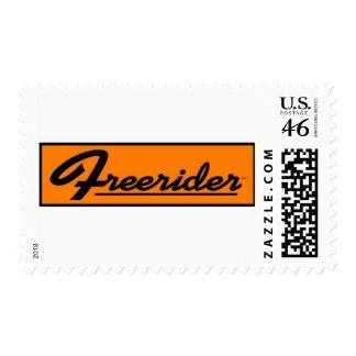 FREERIDER Orange Banner Stamps