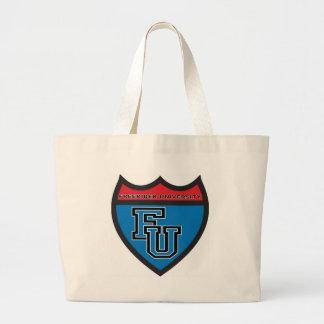 FREERIDER UNIVERSITY Badge Canvas Bag