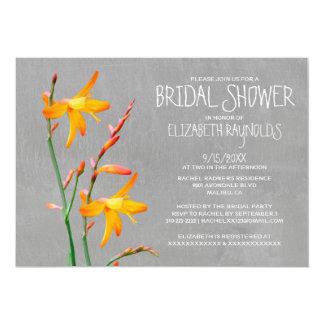 Freesia Bridal Shower Invitations