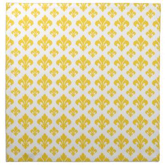 Freesia de la flor de lis 2 servilleta de papel