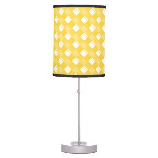 Freesia de la tela escocesa 3 lámpara de mesa