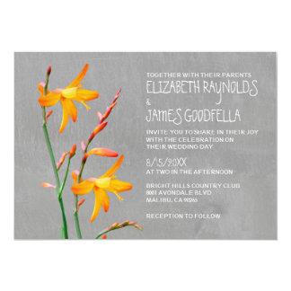 Freesia Wedding Invitations