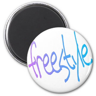 freestyle 2 inch round magnet
