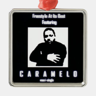 Freestyle At Its Best Featuring CARAMELO Metal Ornament