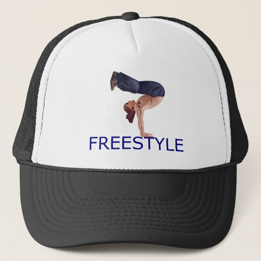 Freestyle B Boy Trucker Hat