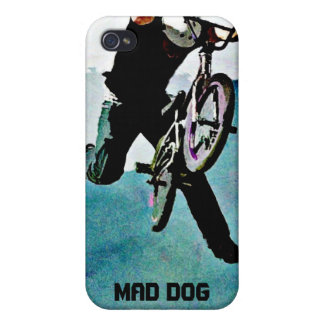 Freestyle BMX Bicycle Stunt iPhone 4 Cover