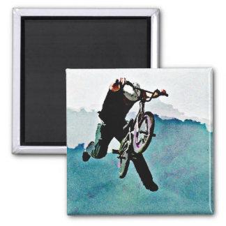 Freestyle BMX Bicycle Stunt Magnet