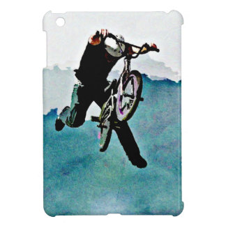 Freestyle BMX Bike Stunt Pop Art iPad Mini Cases