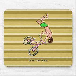 Freestyle BMX Ride Front Flip Mouse Pad