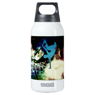 Freestyle Break Dance Graffiti Insulated Water Bottle