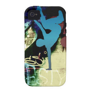 Freestyle Break Dance Graffiti Vibe iPhone 4 Case