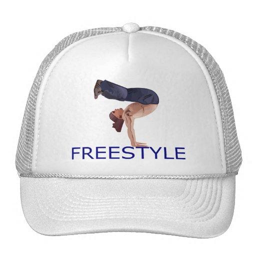 Freestyle Breakdancing  B Boy Trucker Hats