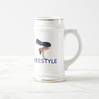 Freestyle Breakdancing  B Boy Coffee Mug