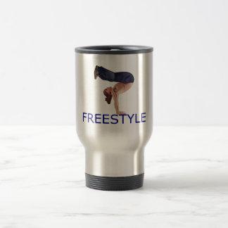 Freestyle Breakdancing  B Boy Coffee Mugs