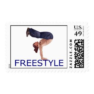 Freestyle Breakdancing  B Boy Postage