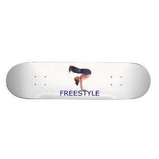 Freestyle Breakdancing  B Boy Skateboard