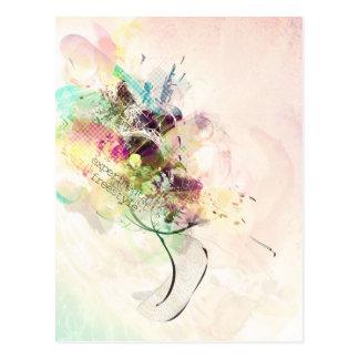 freestyle experimental design postcard