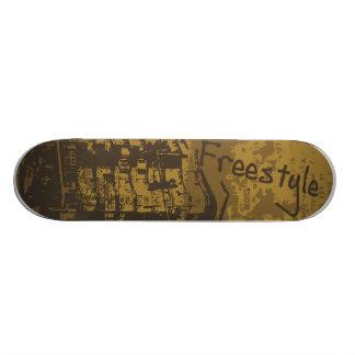 Freestyle grunge skateboards