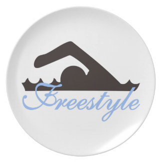 Freestyle Melamine Plate
