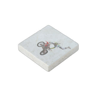 Freestyle Motocross Stone Magnet