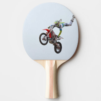 Freestyle Motocross Ping-Pong Paddle