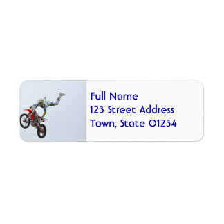 Freestyle Motocross Labels