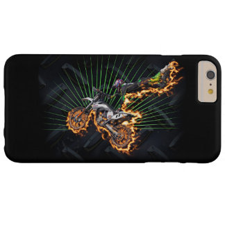 Freestyle motocross rider flying high barely there iPhone 6 plus case