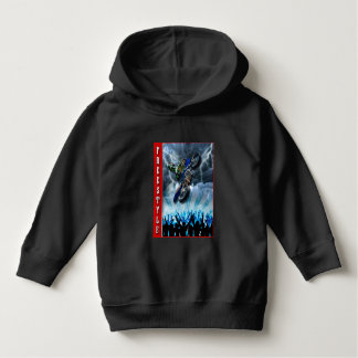 Freestyle Motocross rider flying over the crowd Hoodie