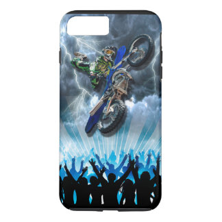 Freestyle Motocross rider flying over the crowd iPhone 8 Plus/7 Plus Case