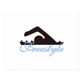 Freestyle Postcard