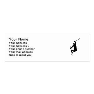 Freestyle ski jump business card templates