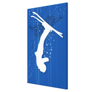 Freestyle Skier Canvas Print