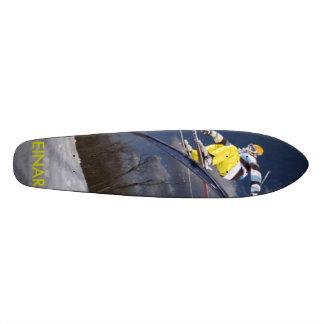 freestyle skier, EINAR Skateboard Deck