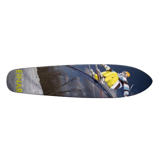 freestyle skier, EINAR Skateboard Deck