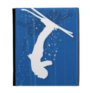 Freestyle Skier iPad Folio Case